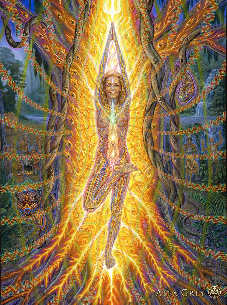 Alex grey vision tree